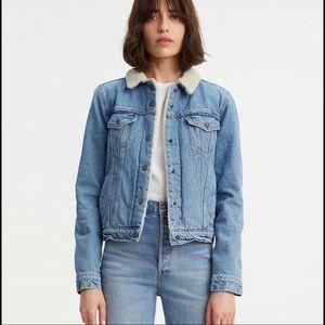 Original Levi Sherpa trucker jacket